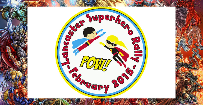 Lancaster Superhero Rally